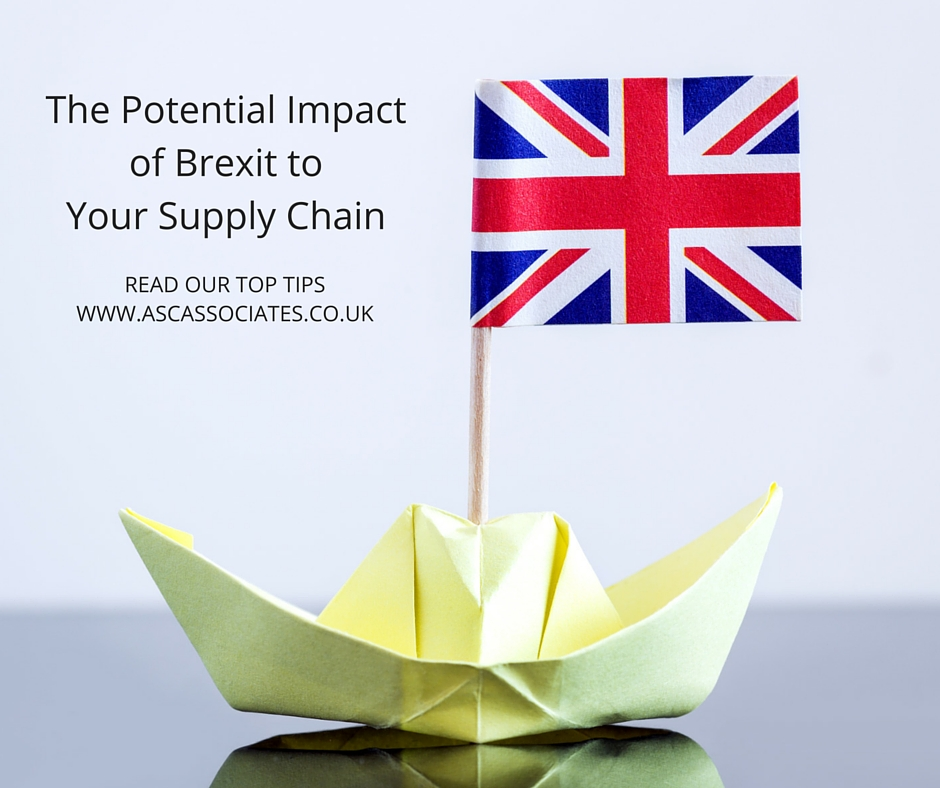 The Potential Impact of Brexit to Your Supply Chain